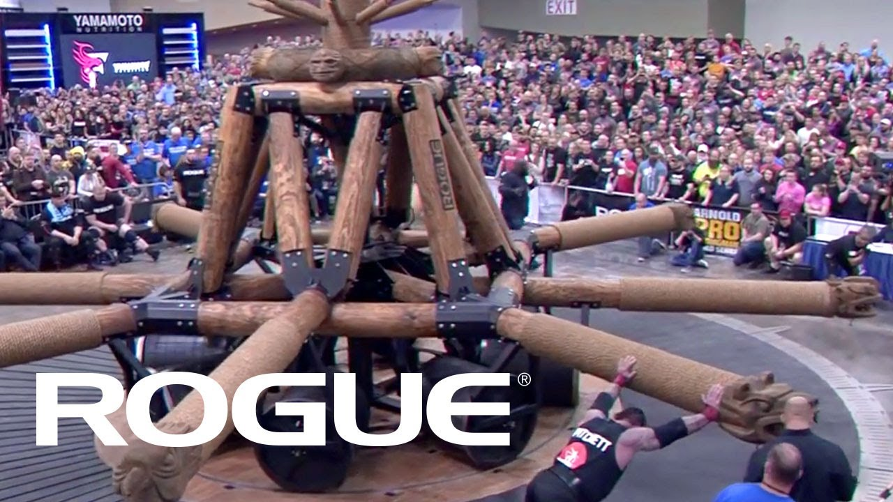 2019 Arnold Strongman Classic   Rogue Wheel of Pain – Full Live Stream Event 3