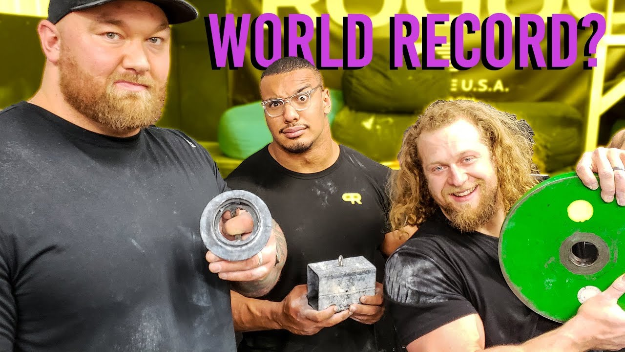 World's Stongest Man = Strongest Grip Strength? Thor & Larry Wheels