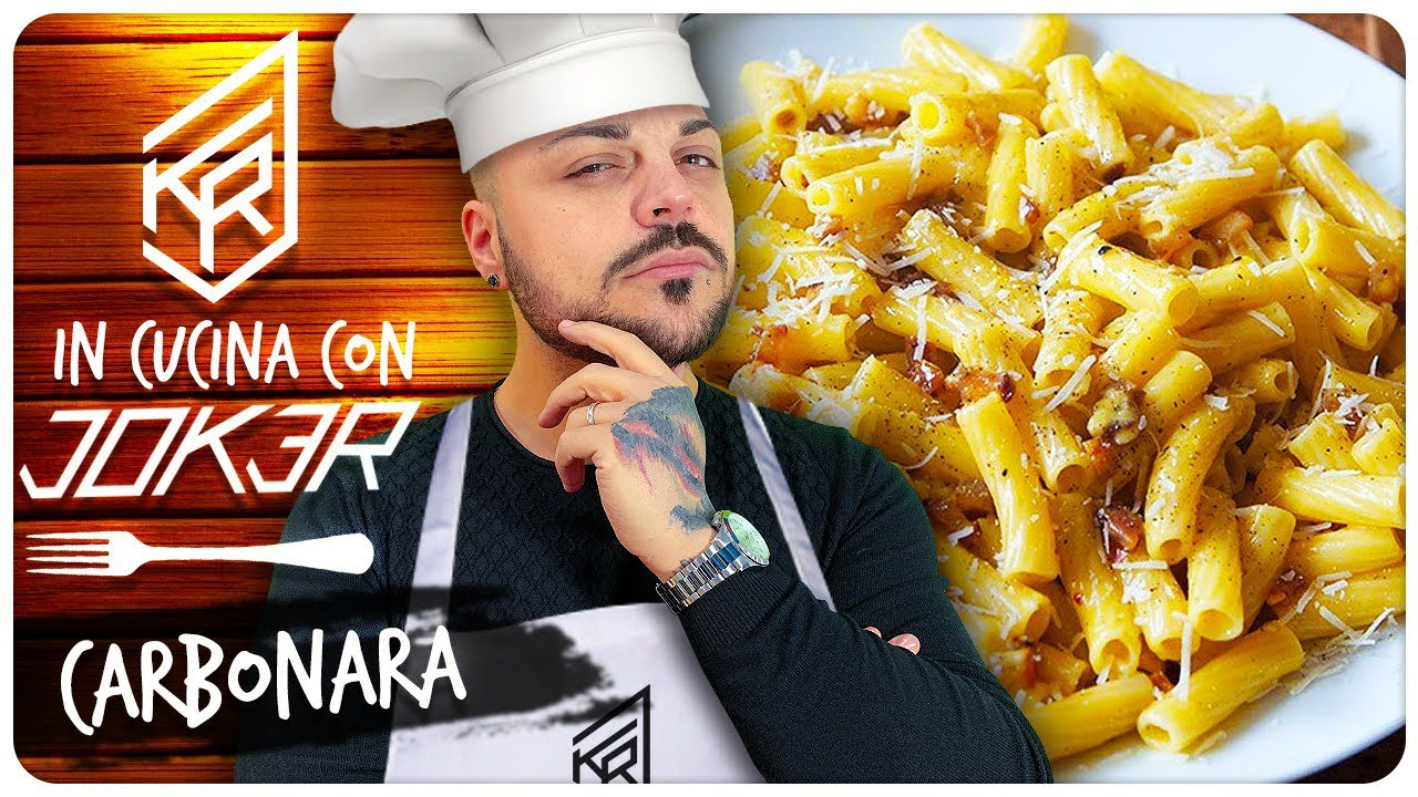 LA SUPER CARBONARA DEL JOKERONE !!! In Cucina con JOKER