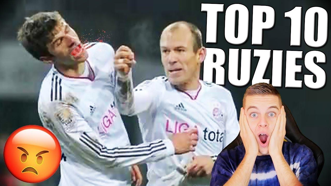 TOP 10 ERGSTE RUZIES TUSSEN TEAMGENOTEN!!