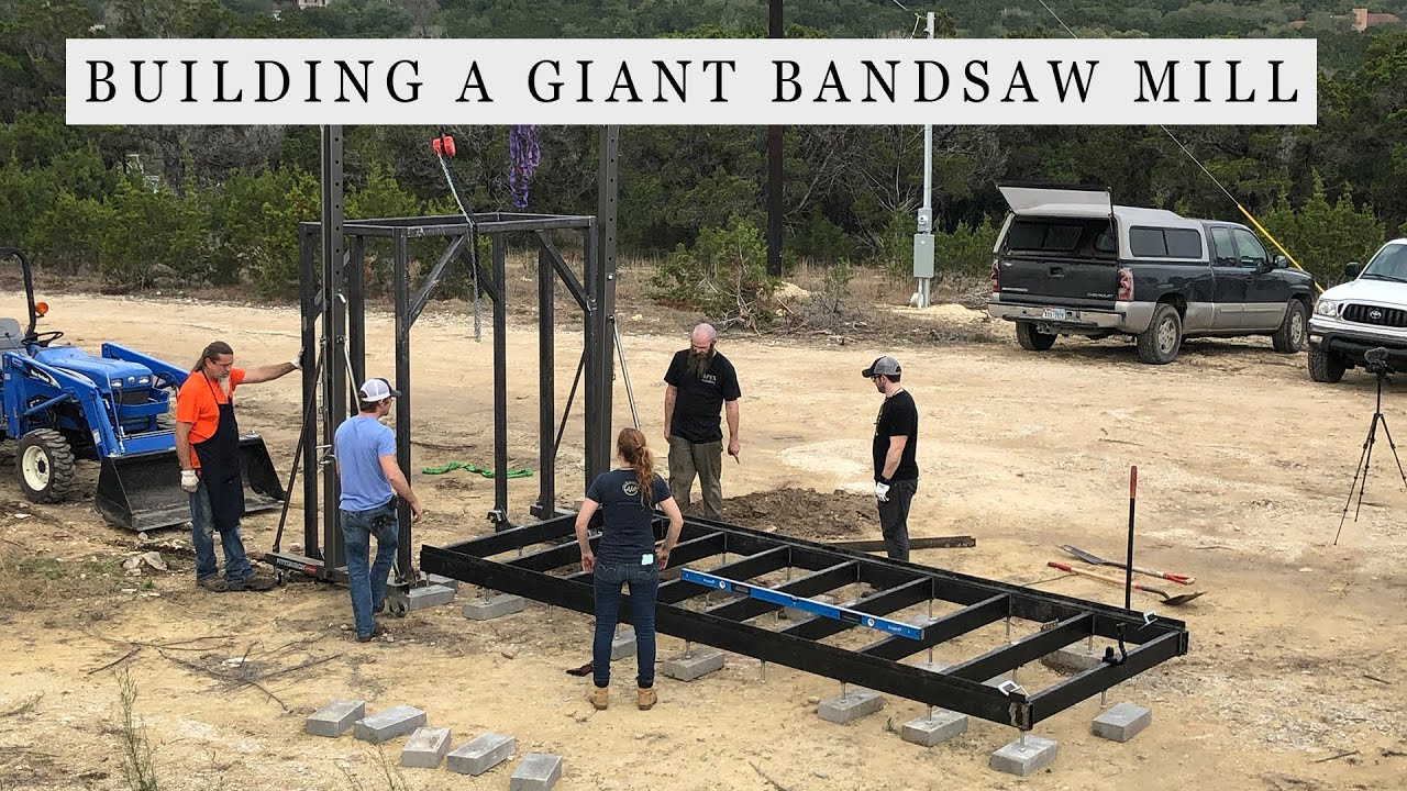 Building a Giant Bandsaw Mill – Making the Carriage