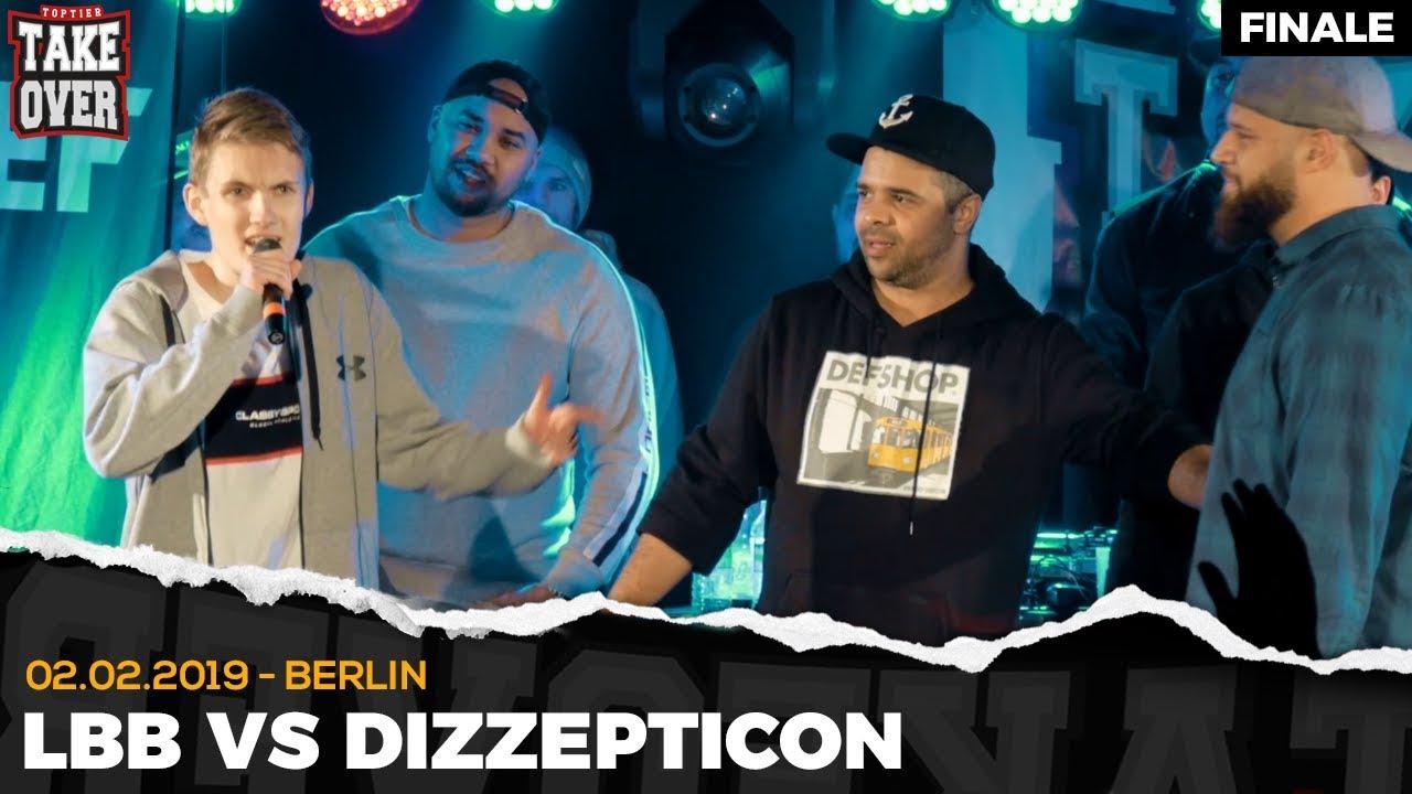 LBB vs. Dizzepticon – Takeover Freestyle Contest | Berlin 02.02.19 (Finale)