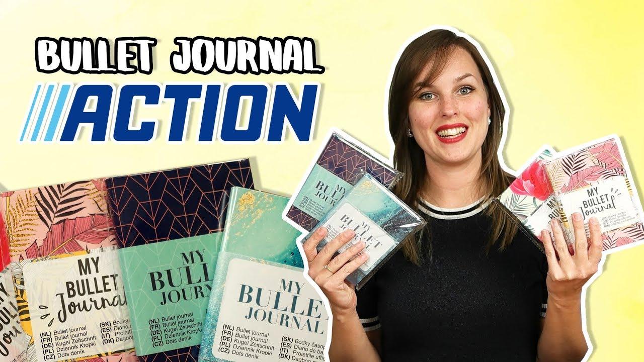 Nieuwe Bullet Journals van de Action 2019