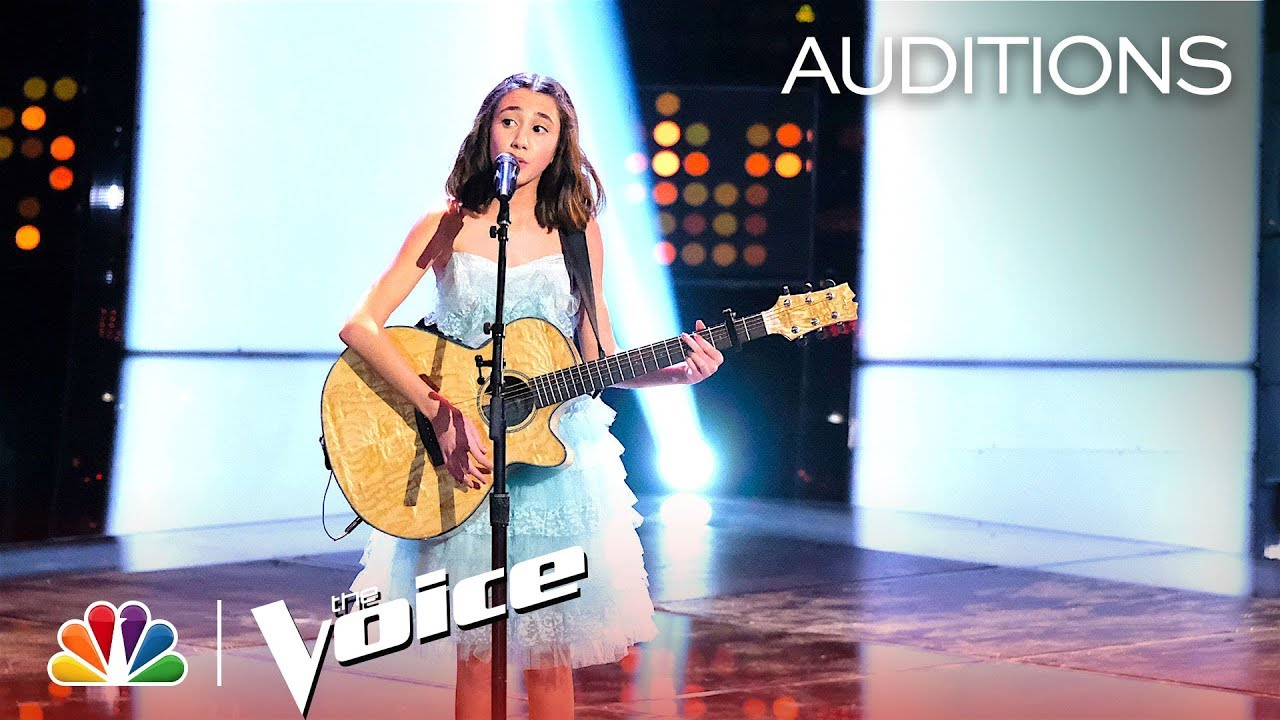 """Mikaela Astel Blooms on """"Electric Love"""" – The Voice Blind Auditions 2019"""