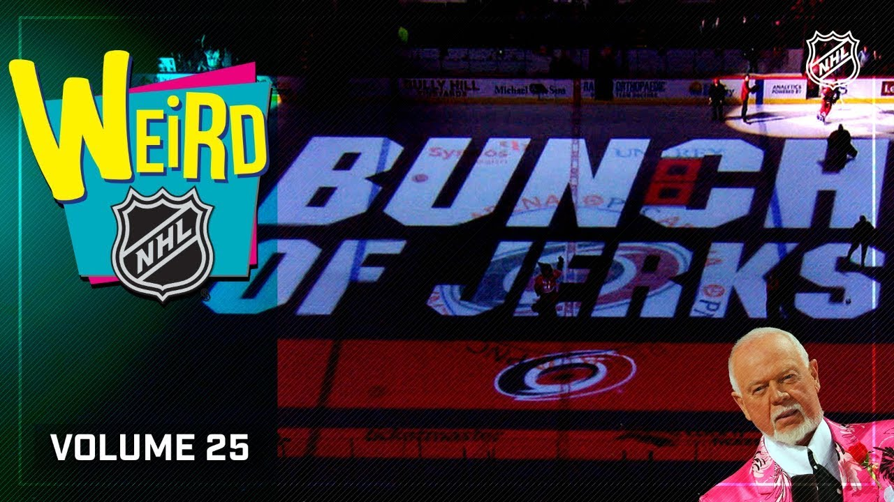 Weird NHL Vol. 25: It's a Celebration!