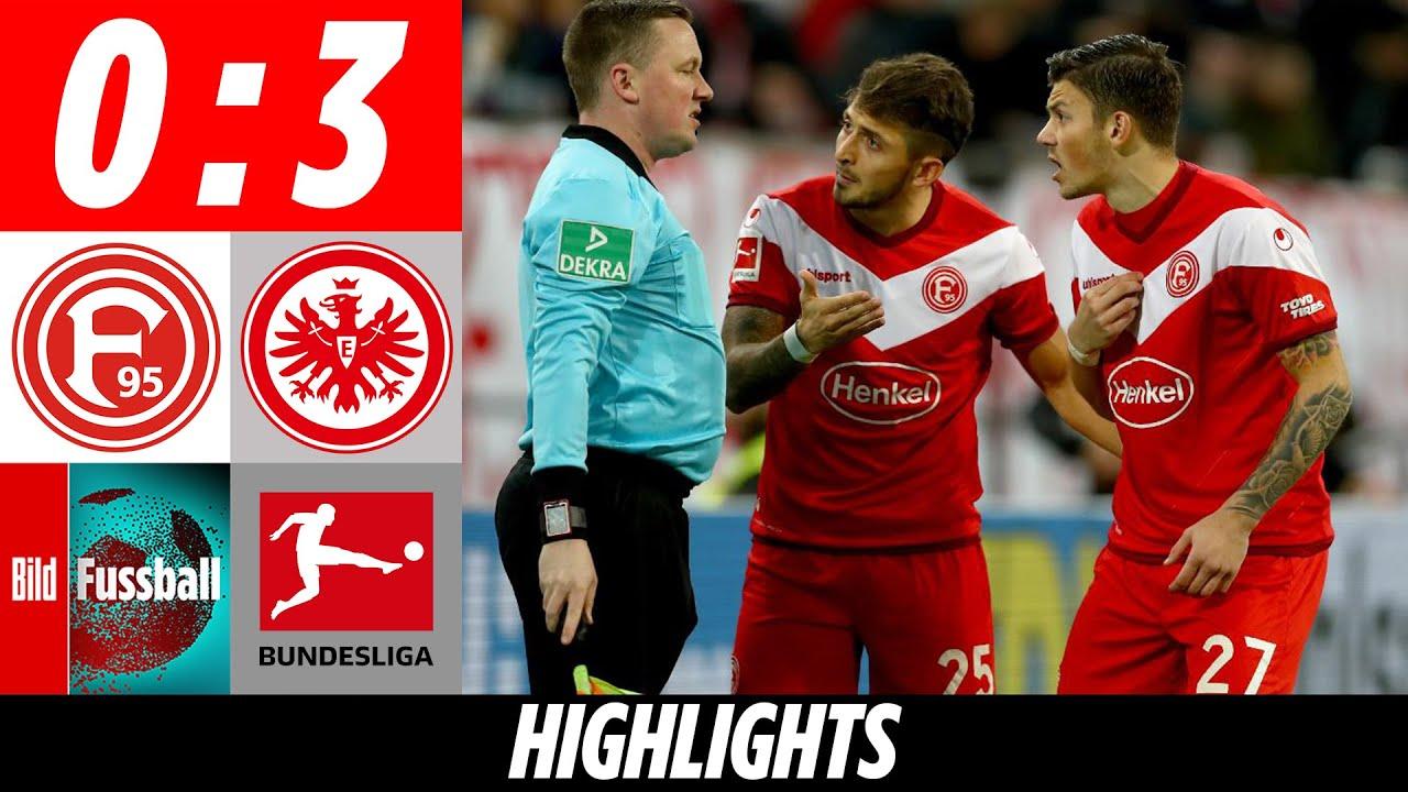 Haller-Doppelpack in Nachspielzeit! | Düsseldorf – Eintracht Frankfurt 0:3 | Highlights | Bundesliga