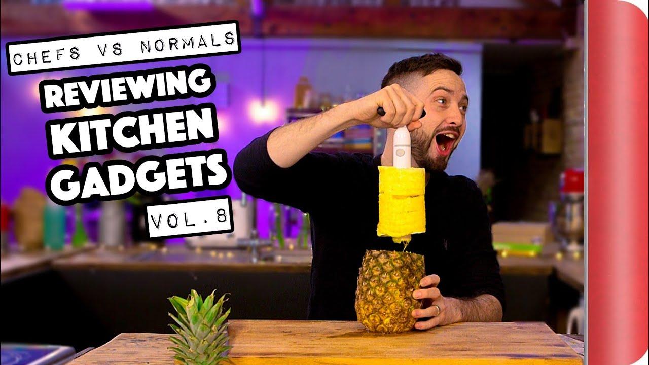 Chefs Vs Normals Reviewing Kitchen Gadgets Vol. 8