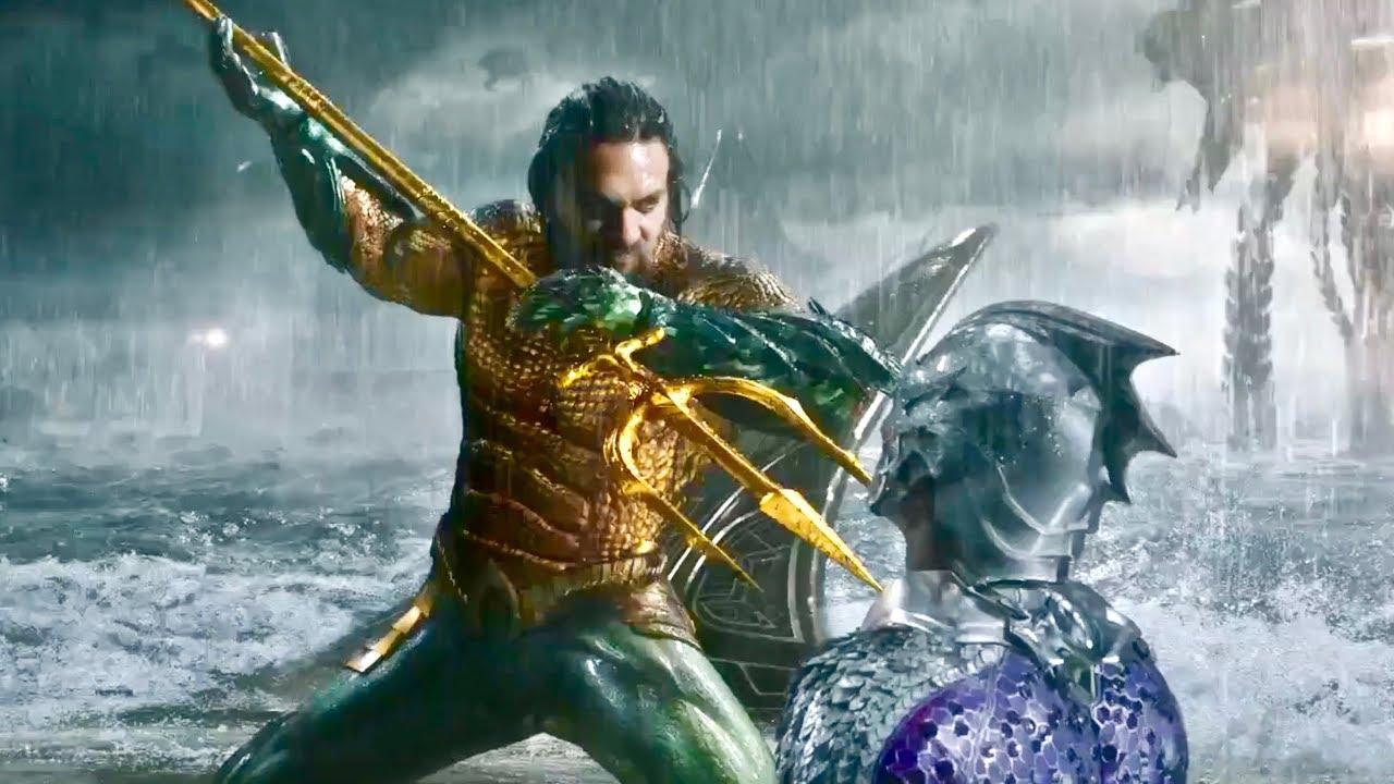 Aquaman IMAX – Final Battle I Aquaman vs King Orm – Authur Saves Mom [FHD]