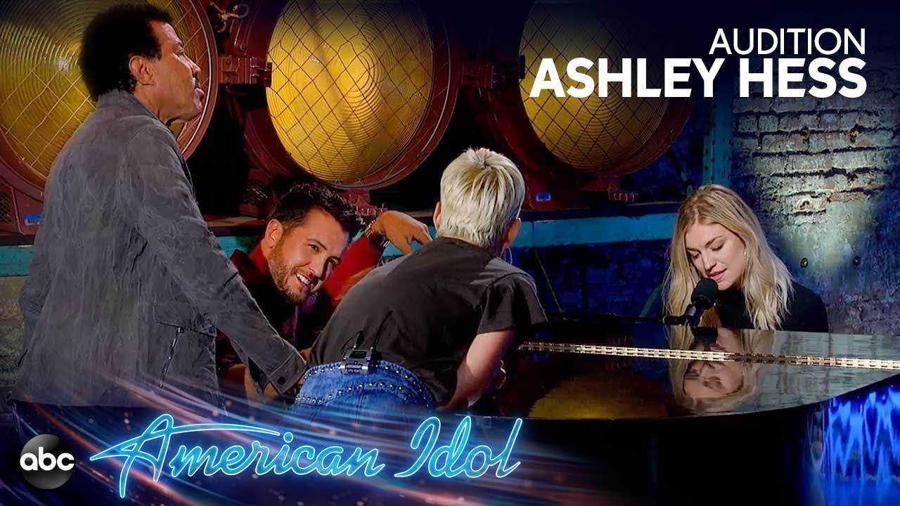 Ashley Hess Serenades Katy, Luke and Lionel in AMAZING Audition – American Idol 2019 on ABC
