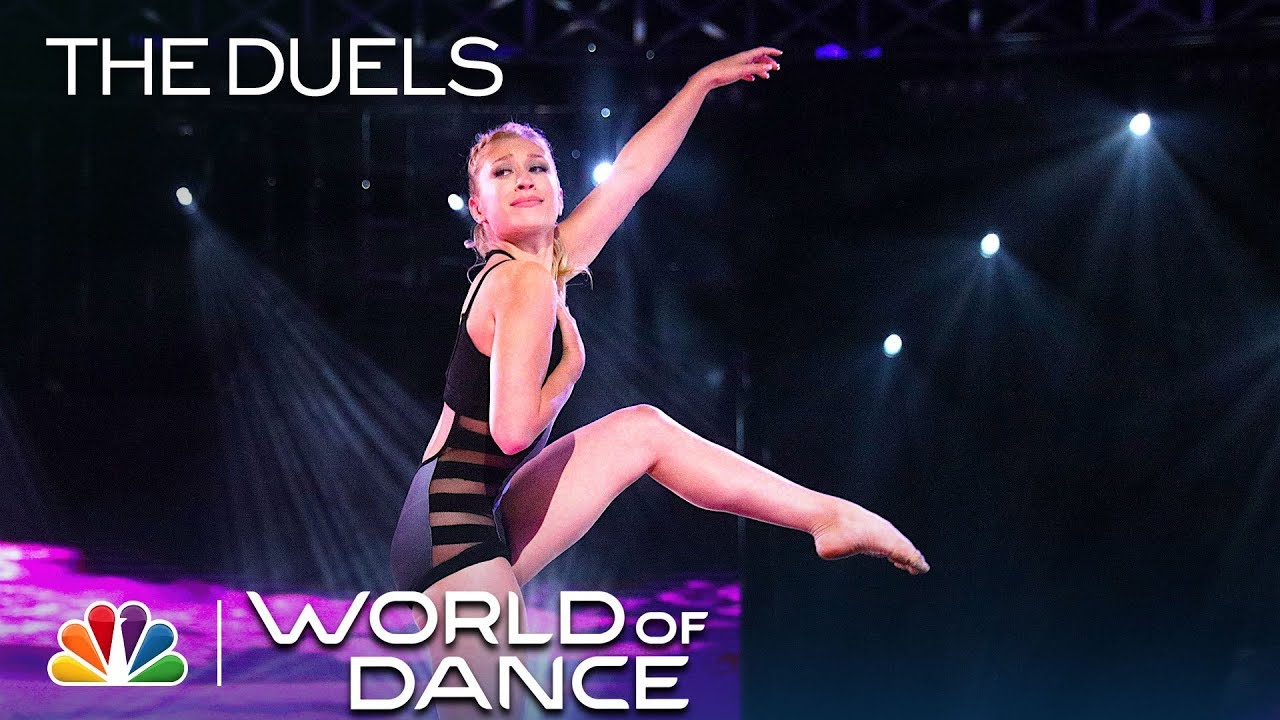 """Briar Nolet Performs Powerful """"Come Fly with Me"""" Routine – World of Dance 2019 (Full performance)"""