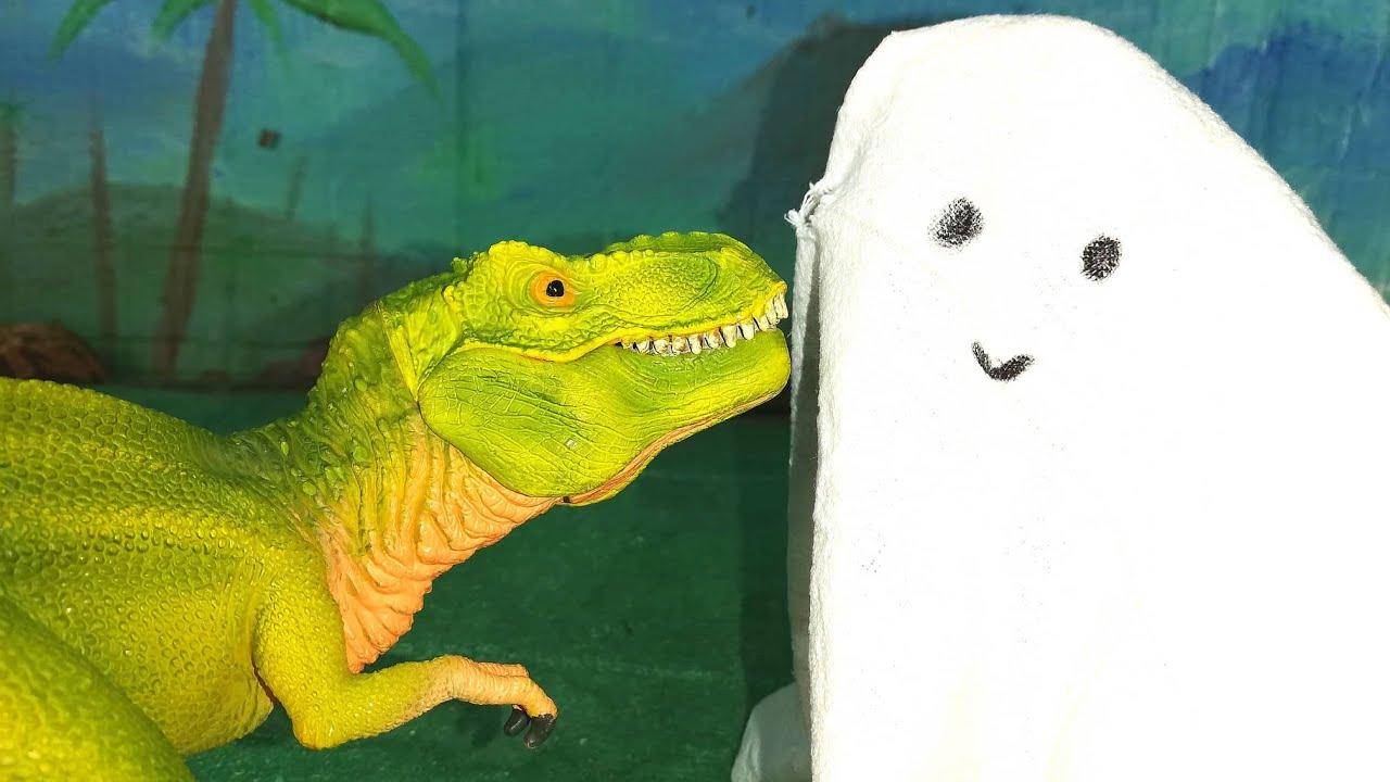 Gli Acchiappafantasmi 👻 [Dinosauri Detective 🕵️ Ep. 4]