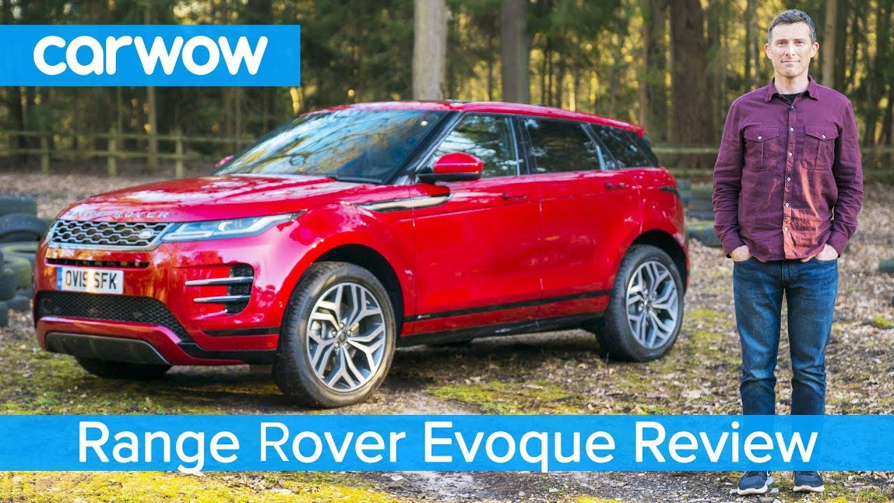 Range Rover Evoque SUV 2019 in-depth review on and off-road!   carwow reviews