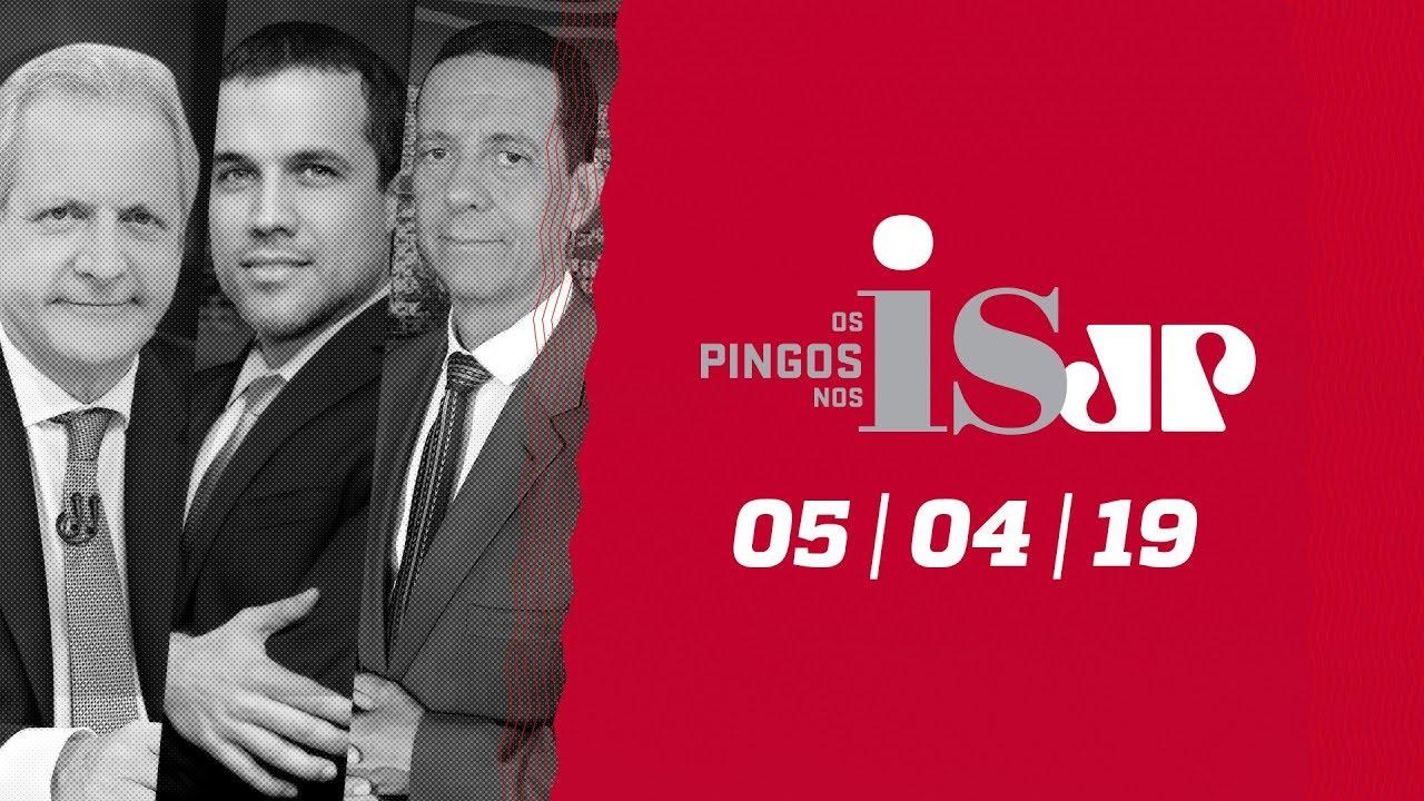 Os Pingos Nos Is – 05/04/19 – Vélez fora? / Ciro e Freixo juntos / Dirceu aprova ofensas do filho