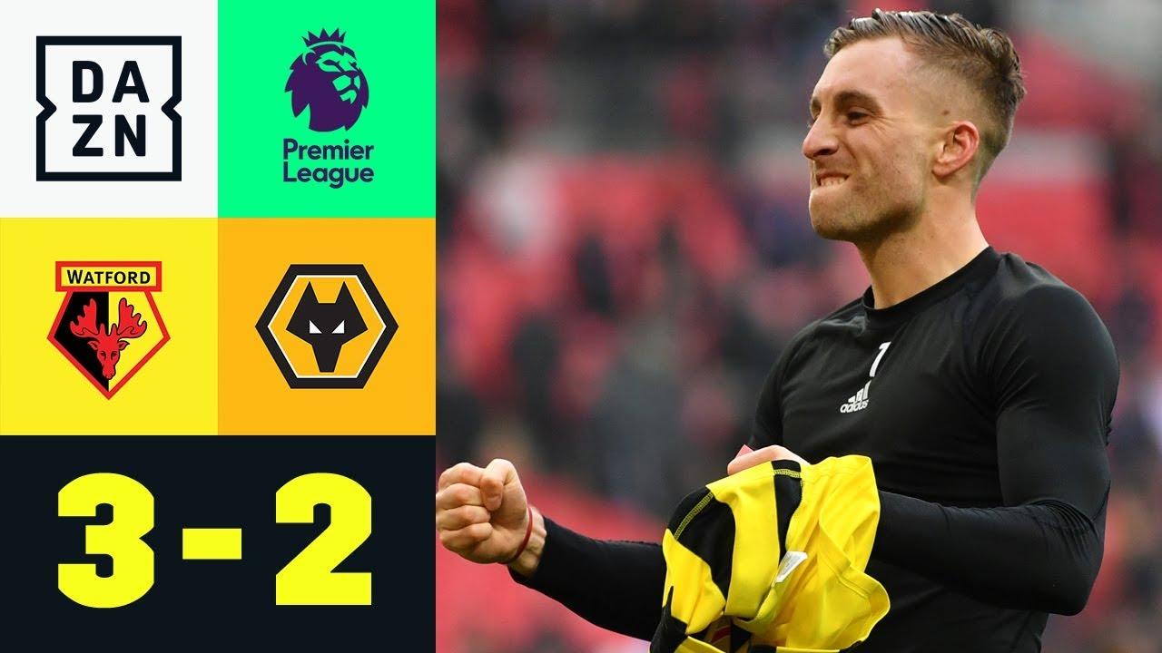 Gerard Deulofeu & Co. nach Drama-Aufholjagd im Finale: Watford – Wolverhampton 3:2 | FA Cup | DAZN