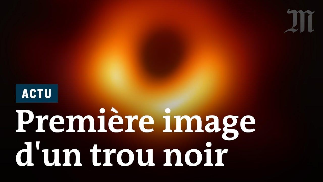 Voici la première image d'un trou noir