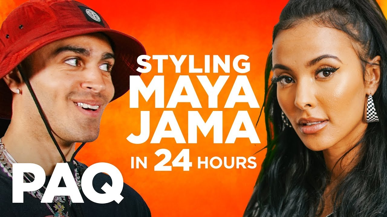 Styling MAYA JAMA in 24 HOURS!