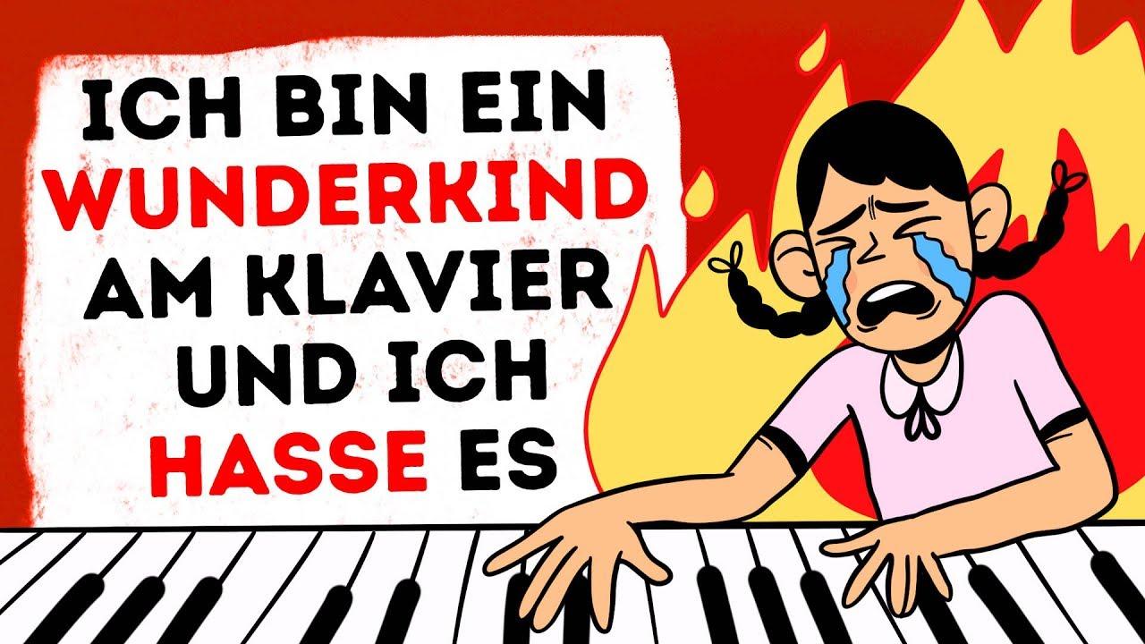 Ich bin ein Wunderkind am Klavier und ich hasse es