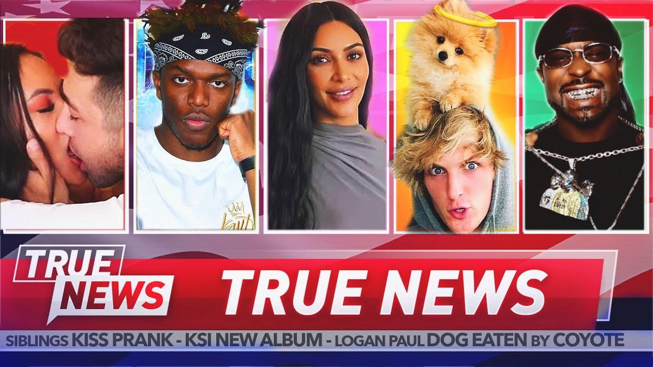 TRUE NEWS! KSI Slams Jake Paul – YouTuber Kisses His Sister – G Unit Star Set Up By Trans Woman
