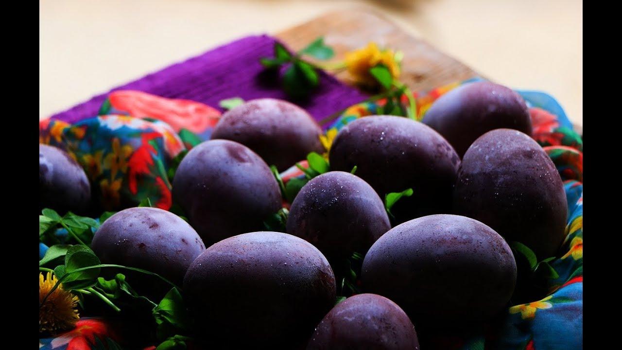 Farbanje jaja u vinu – Prirodno ljubičasta svetlucava jaja za Uskrs