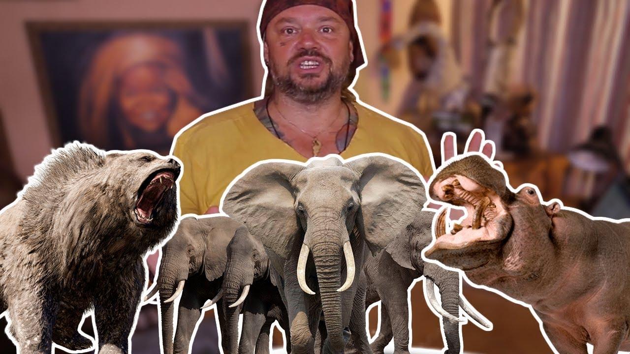OS 10 ANIMAIS MAIS PERIGOSOS DO MUNDO! | RICHARD RASMUSSEN