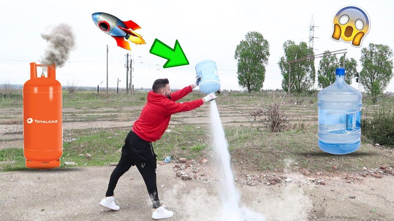 GAZ vs 19L APĂ MINERALĂ 🚀  (Rachetă direct!)