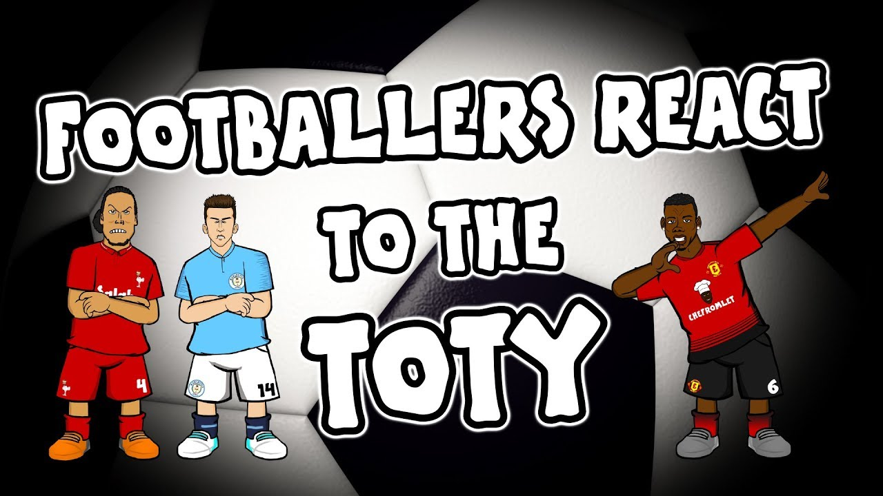 🏆TOTY- Footballers React!🏆 (PFA Team of The Year 2019 Player)