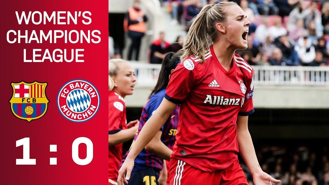 FC Barcelona vs. FC Bayern 1-0 | UEFA Women's Champions League – Semi-Final | ReLive