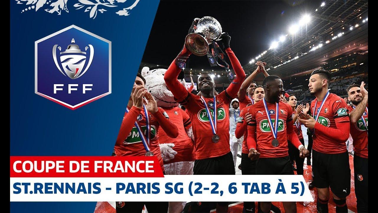 Stade Rennais – Paris SG (2-2, 6 TAB à 5), Finale de Coupe de France I FFF 2019