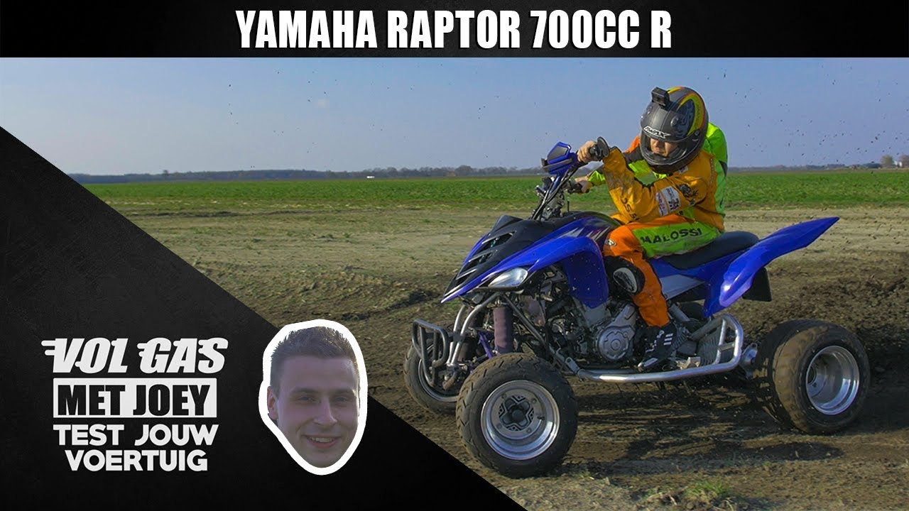 YAMAHA RAPTOR 700CC R SMILDE | VOL GAS MET JOEY