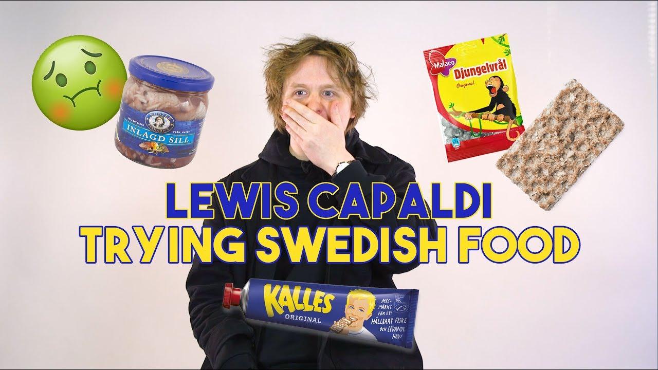 """Pickled herring can suck my ****"" | Lewis Capaldi"
