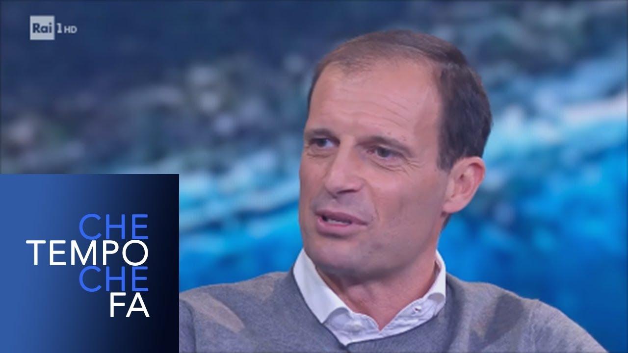 Massimiliano Allegri – Che tempo che fa 28/04/2019