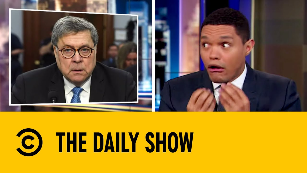 William Barr is Chicken for Skipping His Hearing | The Daily Show with Trevor Noah