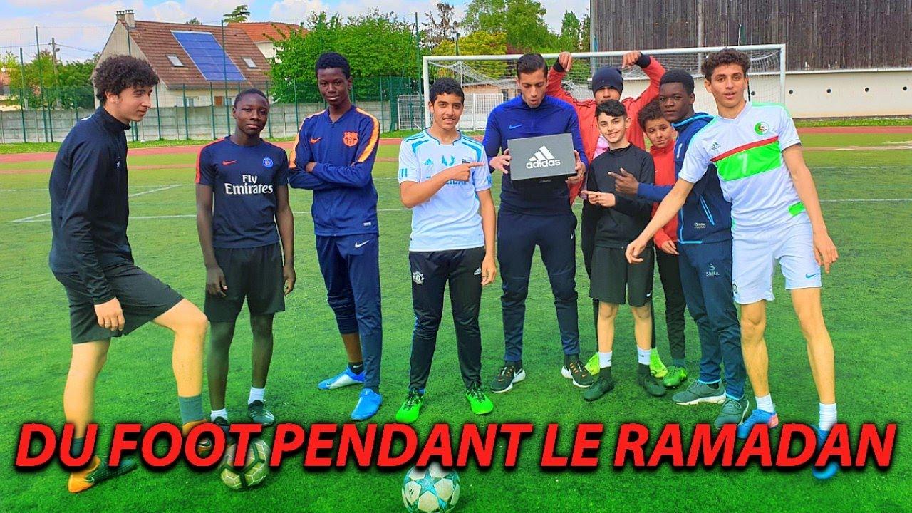 FAIRE DU FOOT PENDANT LE RAMADAN ! BUT INCROYABLE