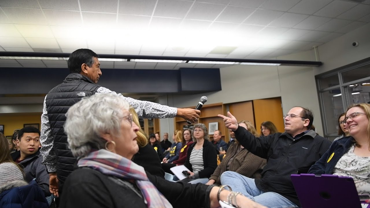 'Why didn't you stay in Mexico?' Diversity and inclusion meeting turns volatile at Michigan school