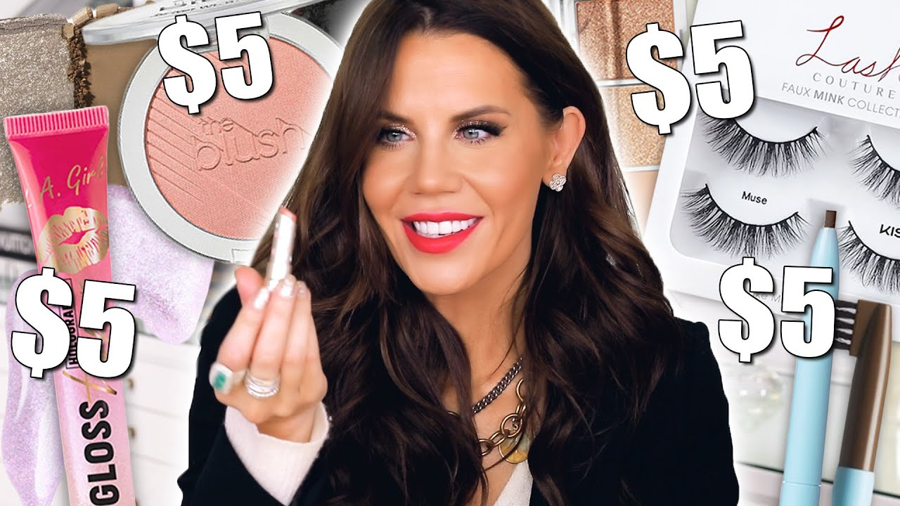 BEST DRUGSTORE MAKEUP UNDER $5 + FREE SHIPPING weekend for Halo & Tati Beauty