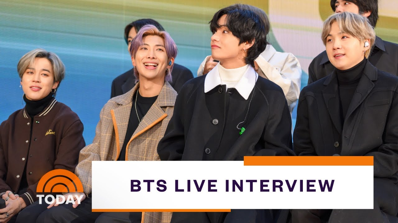 BTS Live Interview On New Album 'Map Of The Soul: Seven' | TODAY