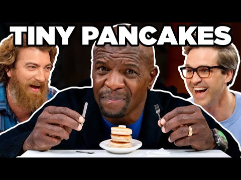 Big Man Tiny Food Challenge ft. Terry Crews
