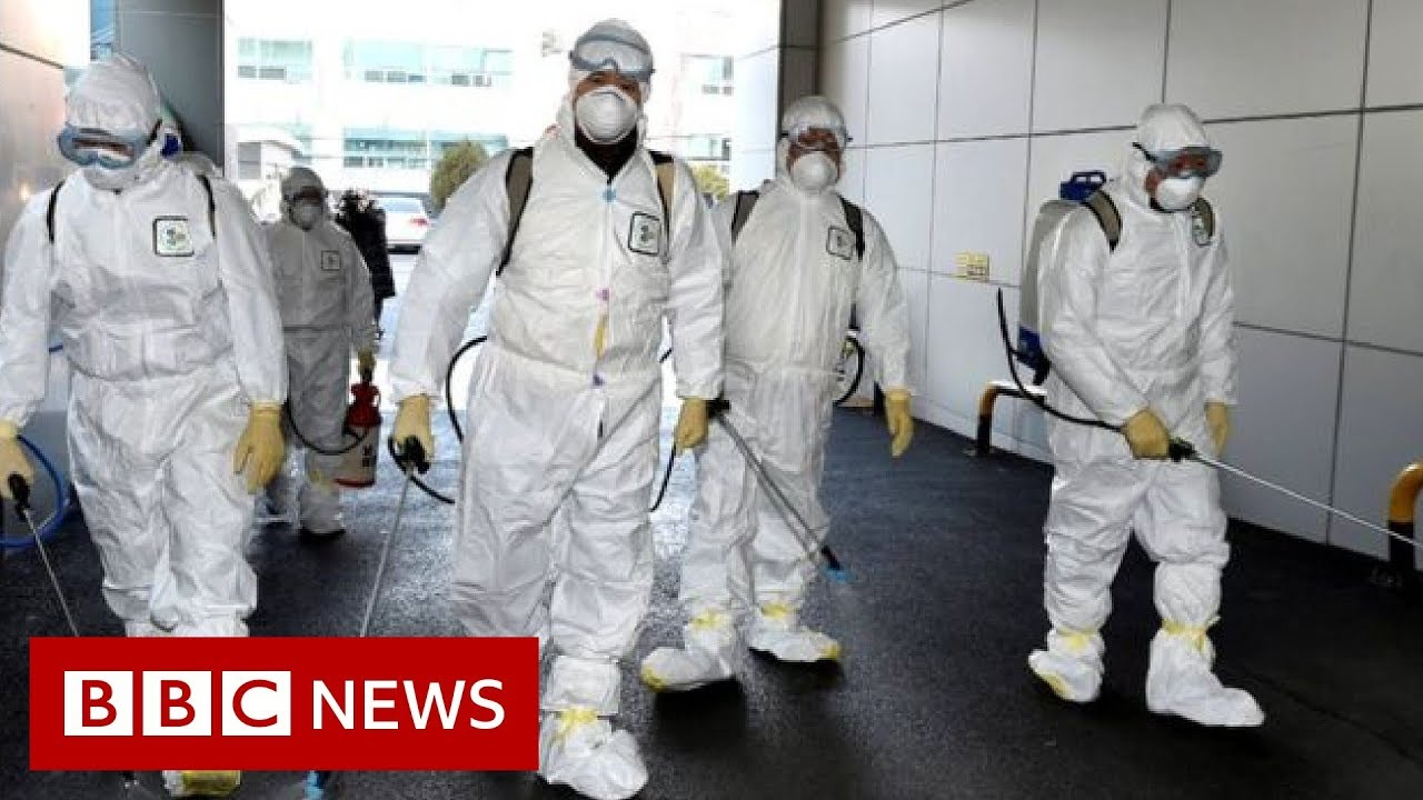 Coronavirus: South Korea has seen its confirmed cases spike – BBC News