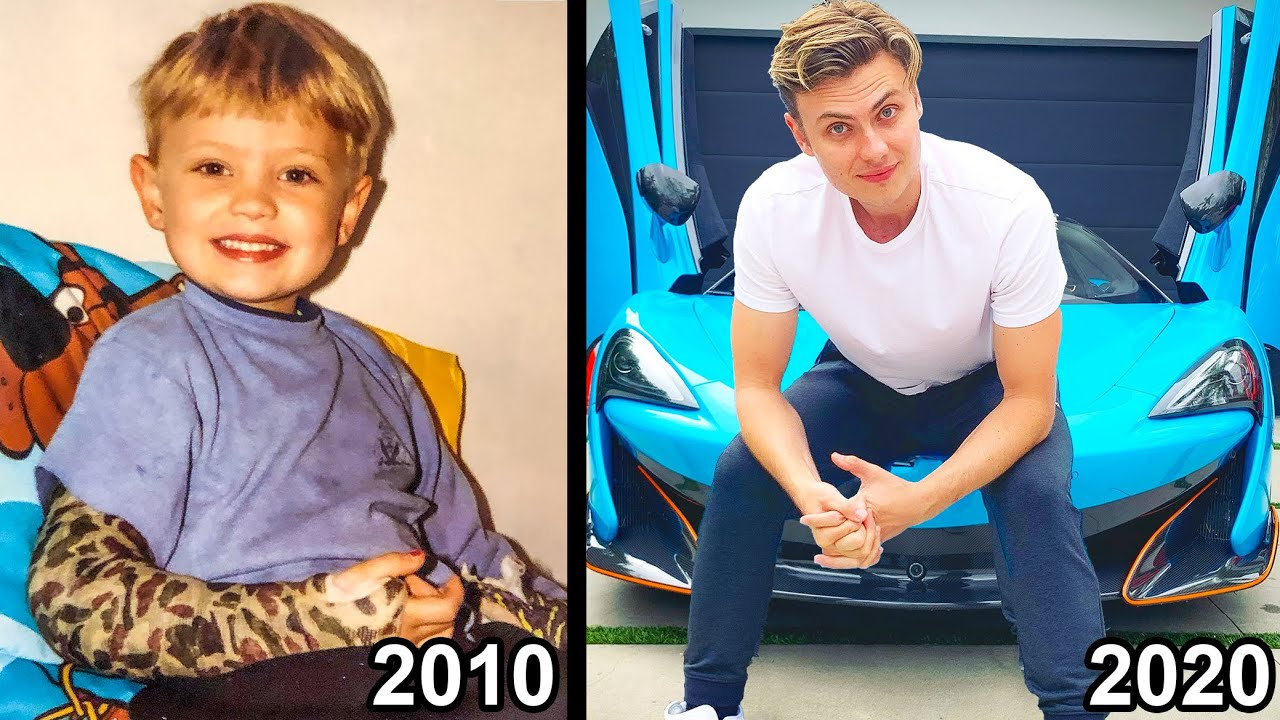 FROM KID TO 6 MILLION SUBSCRIBERS!! (DECADE IN REVIEW)