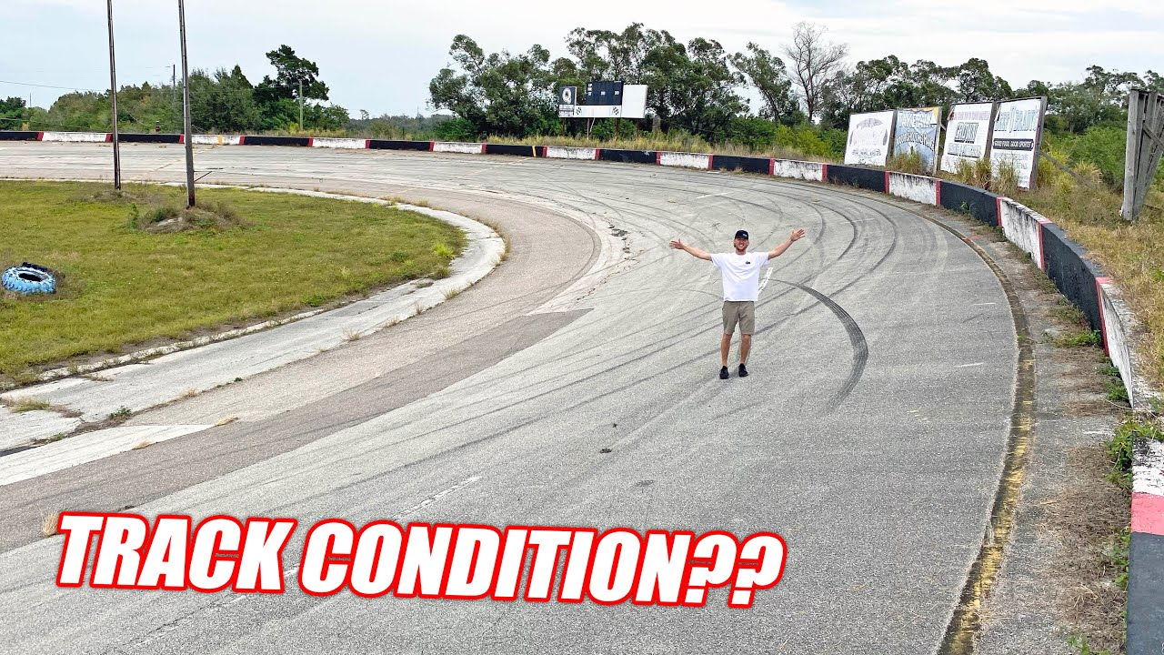 Freedom Factory TOUR #1 – How Bad is the Track, Plans For New Shop, Burnout Pad Layout!