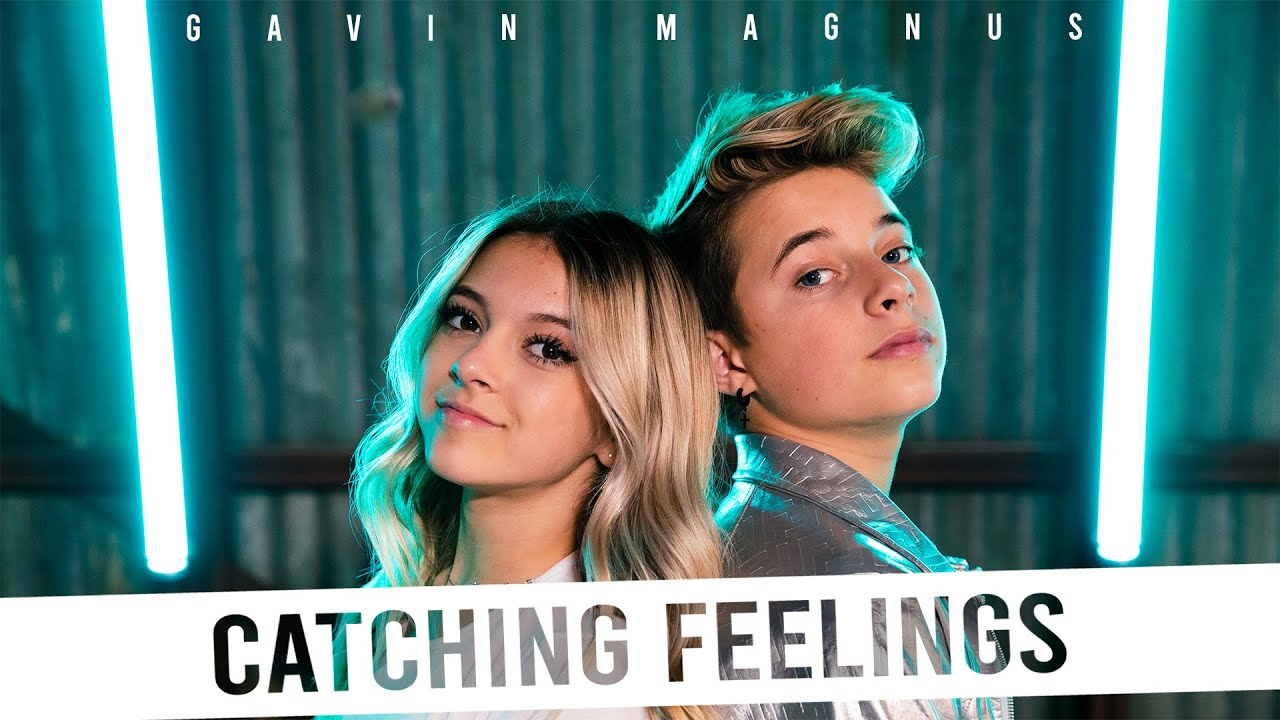 Gavin Magnus – Catching Feelings (Official Music Video) ft. Coco Quinn **FIRST KISS** 💋