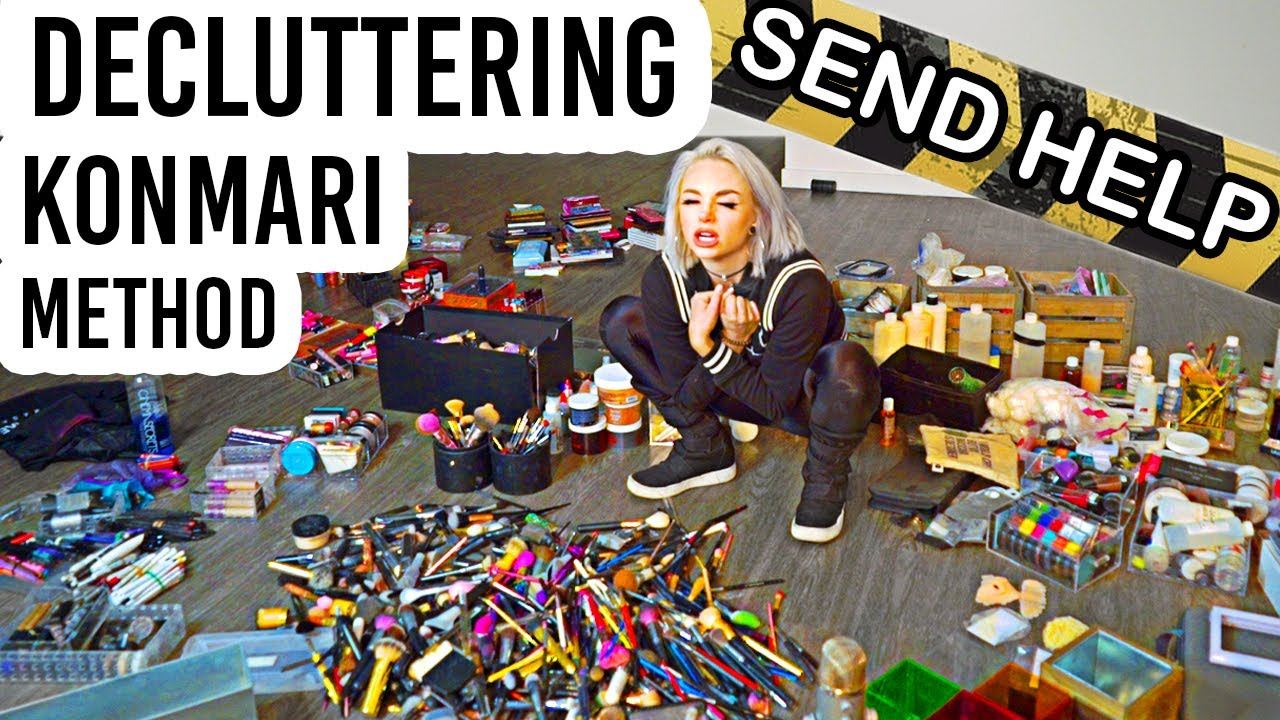 Getting Rid of 80% Of My MAKEUP COLLECTION