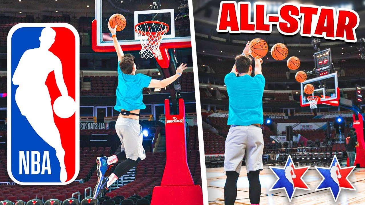 HOOPING AT OFFICIAL 2020 NBA ALL STAR WEEKEND **EXCLUSIVE**