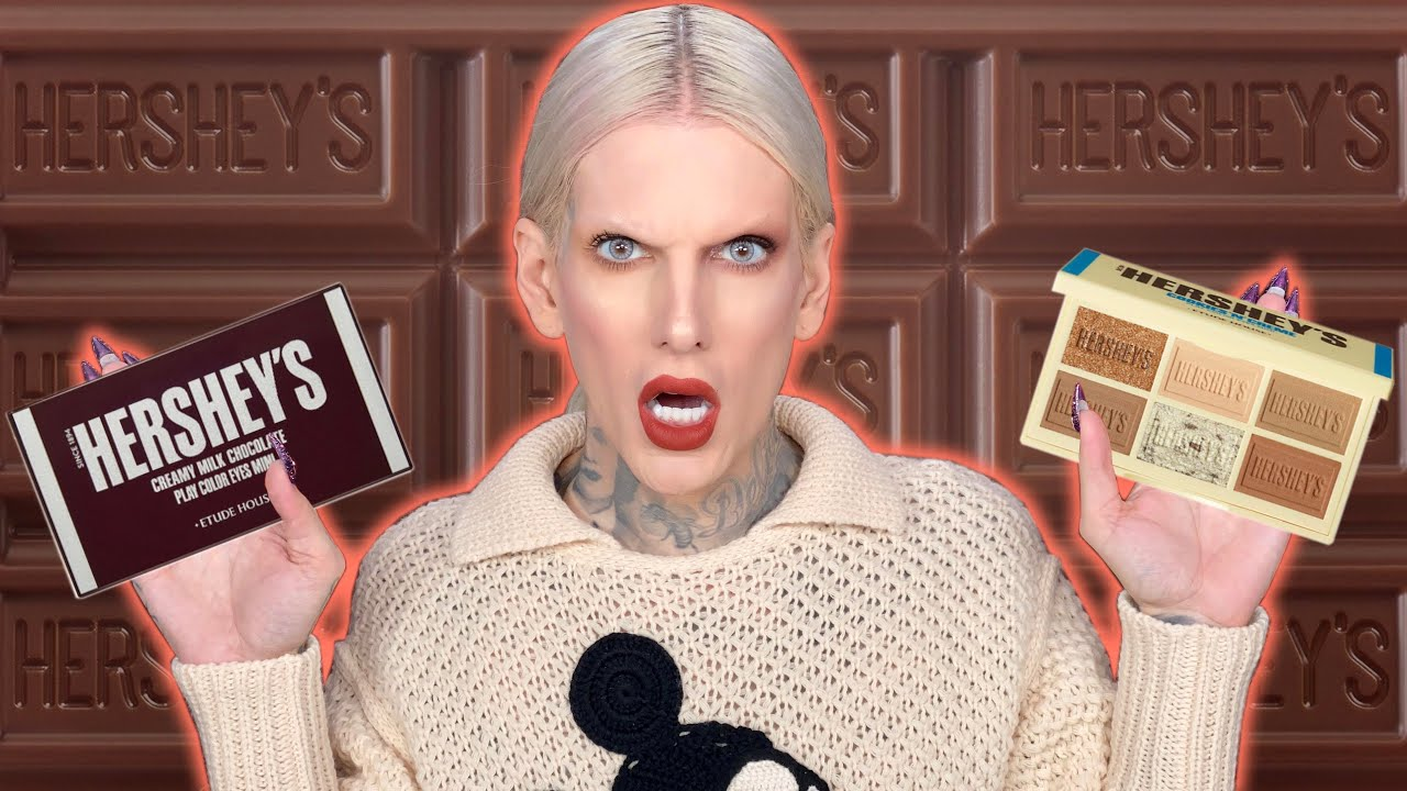 Hershey's Chocolate Makeup… Is It Jeffree Star Approved?!