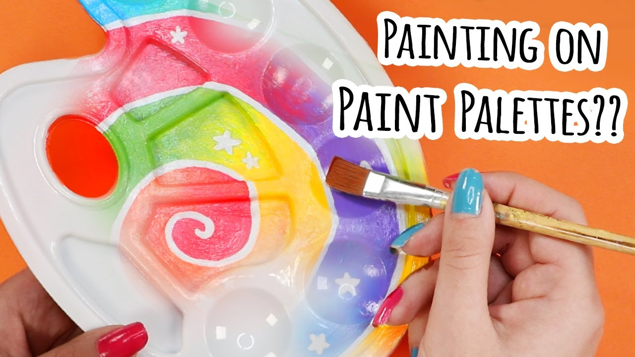 I PAINTED On PAINT Palettes…