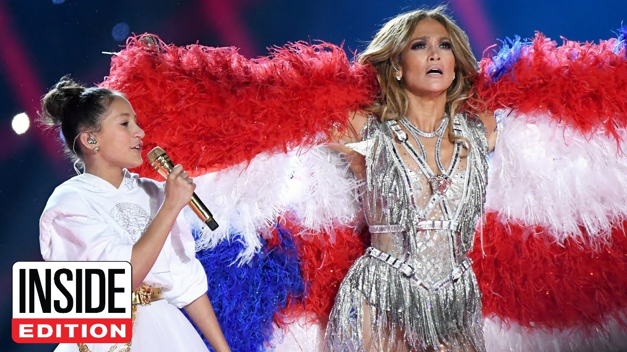 JLo's 11-Year-Old Daughter Stole Her Super Bowl Stage