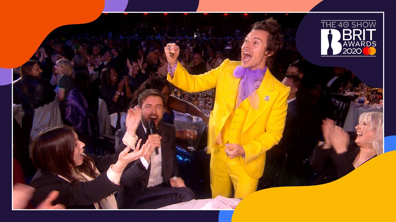 Jack Whitehall chats to Harry Styles and Lizzo | The BRIT Awards 2020