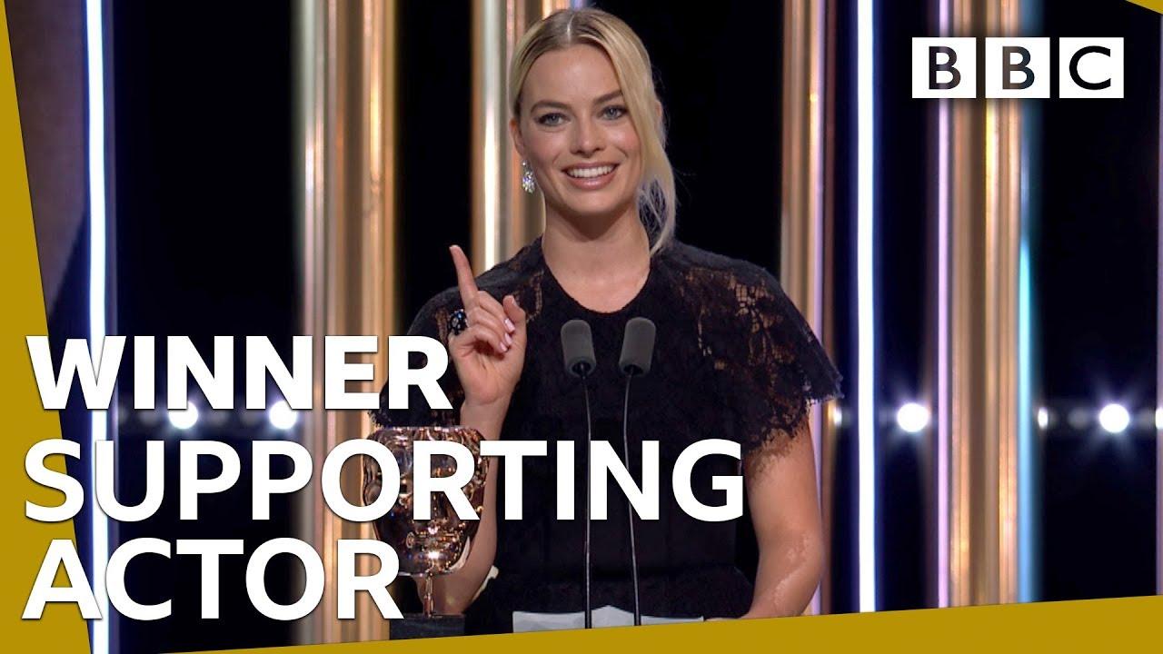 Margot Robbie accepts Brad Pitt's Supporting Actor BAFTA 2020 ? – BBC