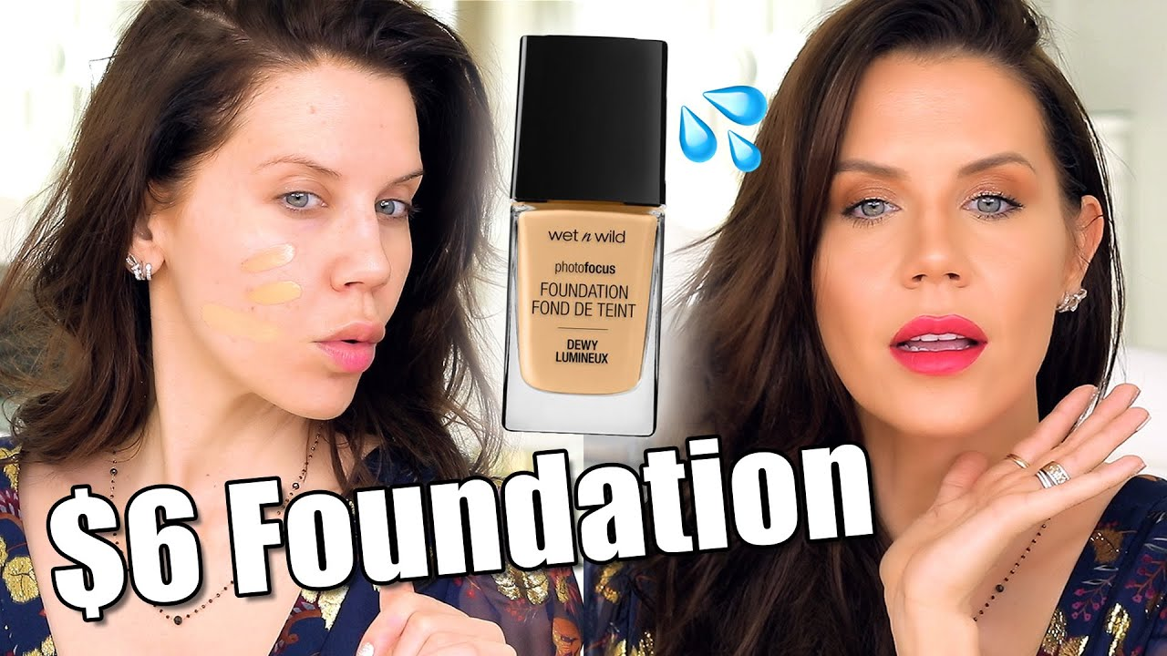 New $6 DRUGSTORE FOUNDATION … Worth The Hype?