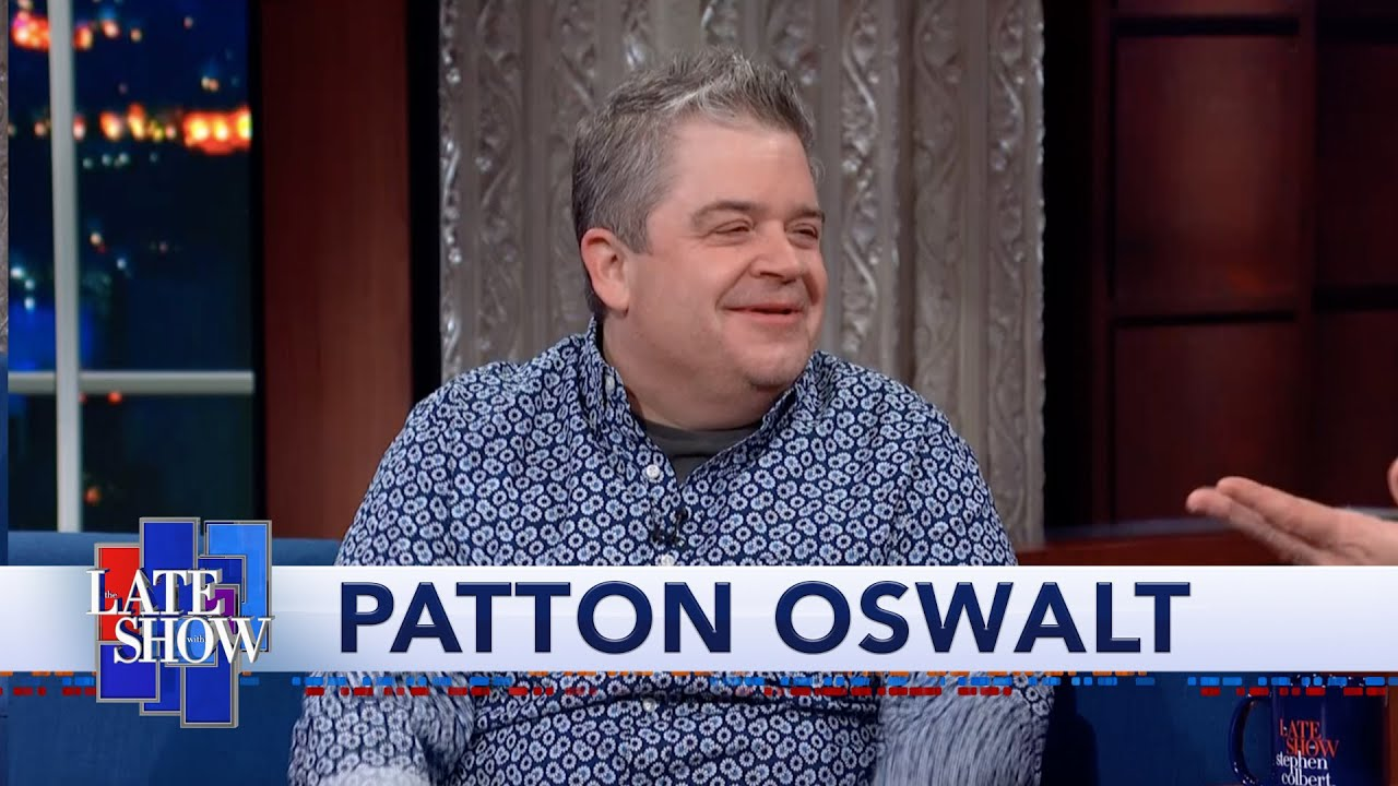 "Patton Oswalt Is Shocked When Stephen Colbert Tells Him To Skip ""The Hobbit"""